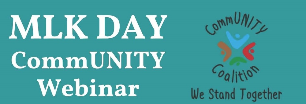 MLK Day CommUNITY Webinar