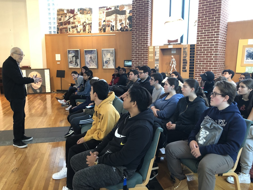 Students Learn Lessons of Acceptance from the Past at the Holocaust Resource Center