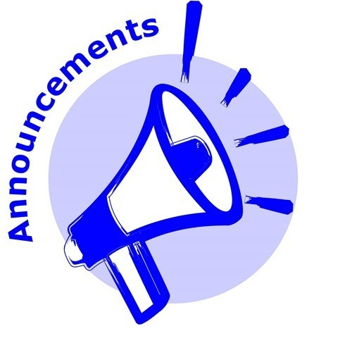 Daily Announcements 5.2.19