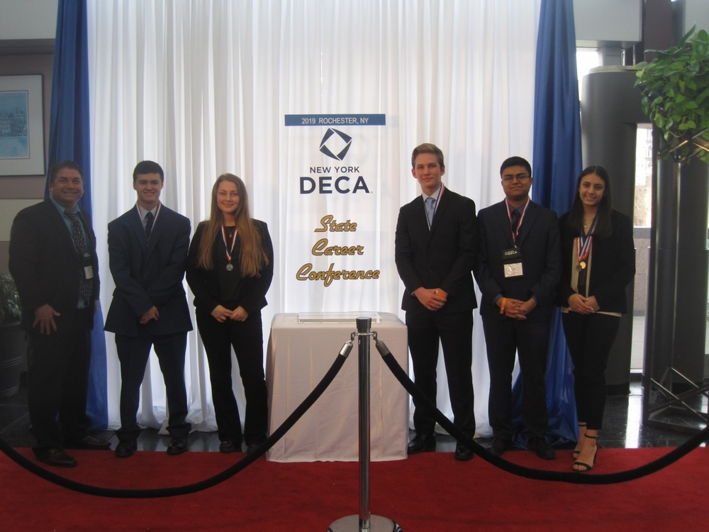 Lawrence Excels @ DECA State Career Conference