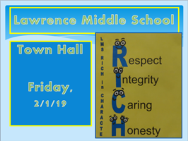 Middle School Town Hall