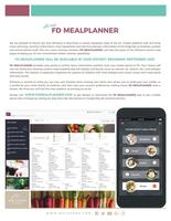 New Food Service Application