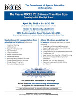 The Nassau BOCES 2019 Annual Transition Expo