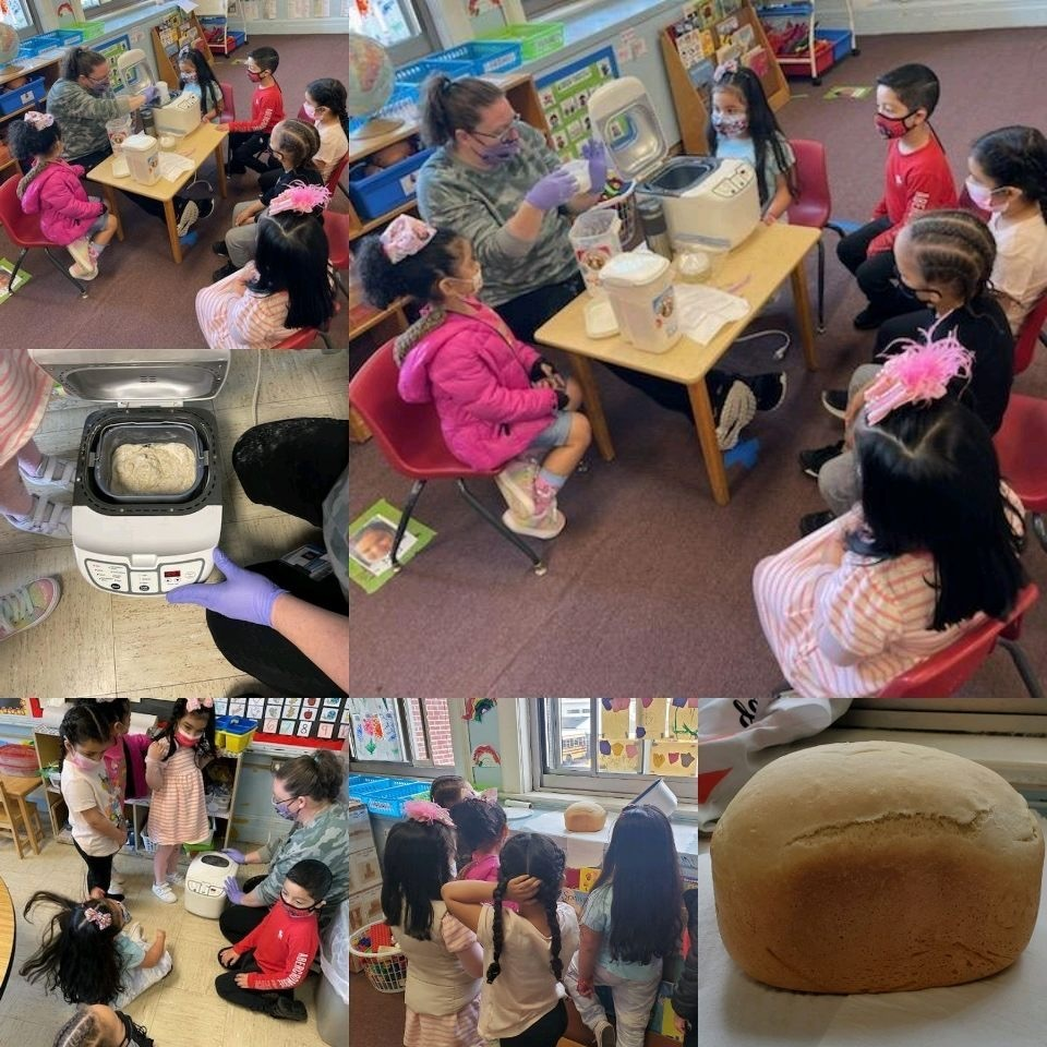 Baking bread -Room 1