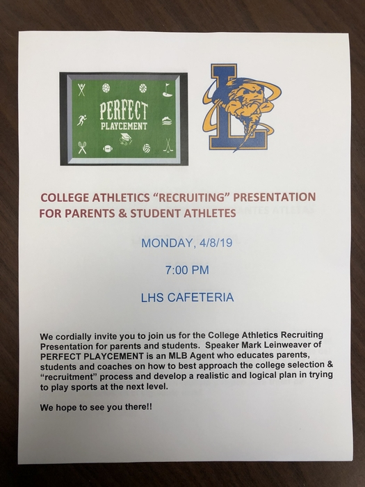 College Athletics Presentation