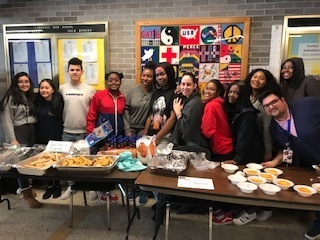 International Food in celebration of Multicultural Week at LHS