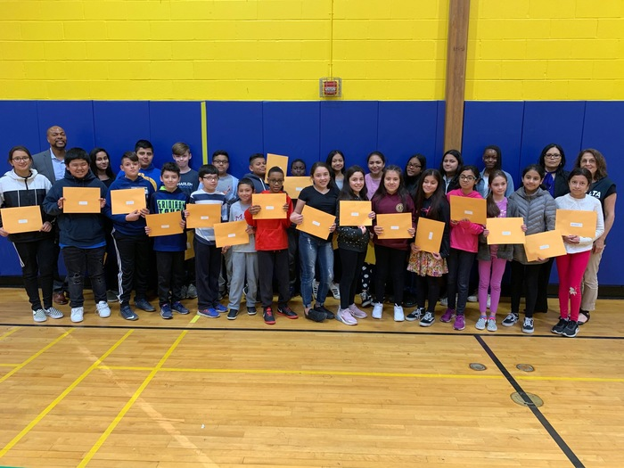 6th grade Gold Honor Roll