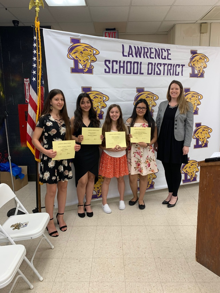 8th Grade Awards Night