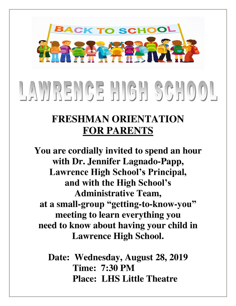 fresh parent orientation english