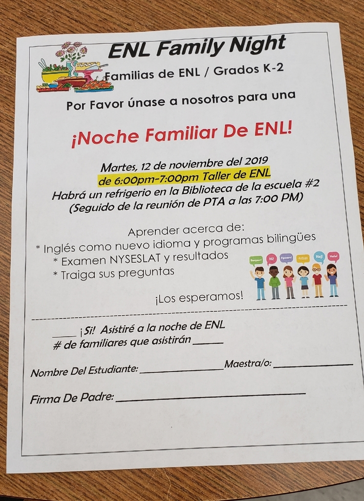 ENL Family Night