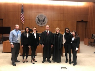 Lawrence High School students last night winning both round 1 and 2 against Freeport and Uniondale in our first Moot Court Competition.  Congratulations to all.